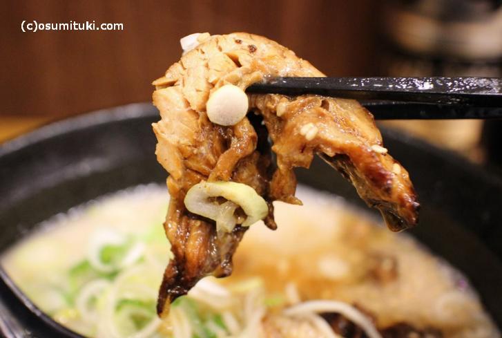 炙り肉です(京都では珍しい)
