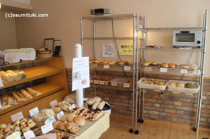 パン屋どころか店が少ない鳴滝にある貴重なパン屋さん