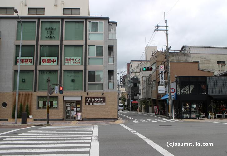 薬種仲間があった京都の通り