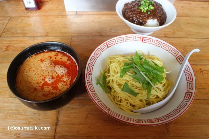 風来房の「つけ坦坦麺」(朱雀 790円)4辛
