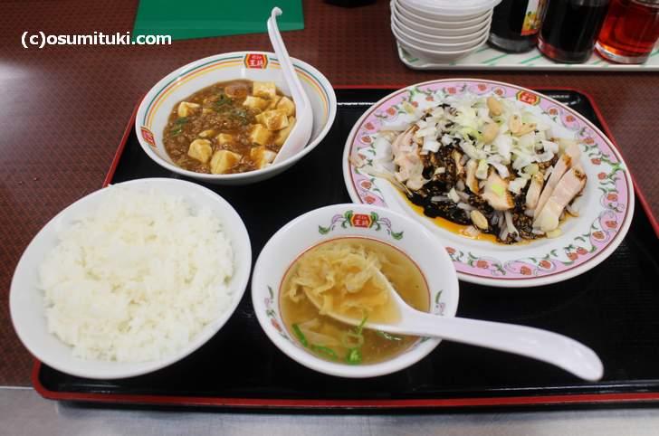 フェアセットB 899円(麻婆豆腐)