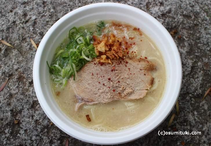 鶏白湯ラーメン 600円