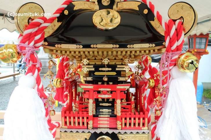 大将軍八神社の神輿