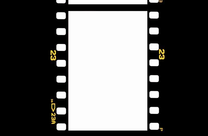 大映通り商店街のストリートはフィルムがデザインされている