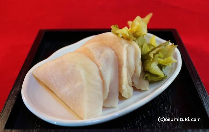 京都の郷土料理「すぐき漬け」