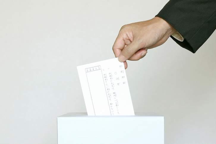 京都・桂駅西口の選挙演説で人が多数押しかけていると話題に