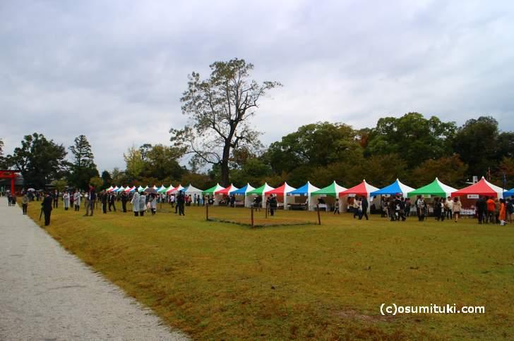 京都パンフェスティバル @上賀茂神社(ただし雨)