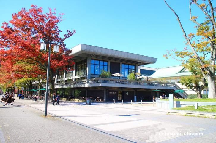 蔦屋書店の紅葉(2017年11月1日撮影)