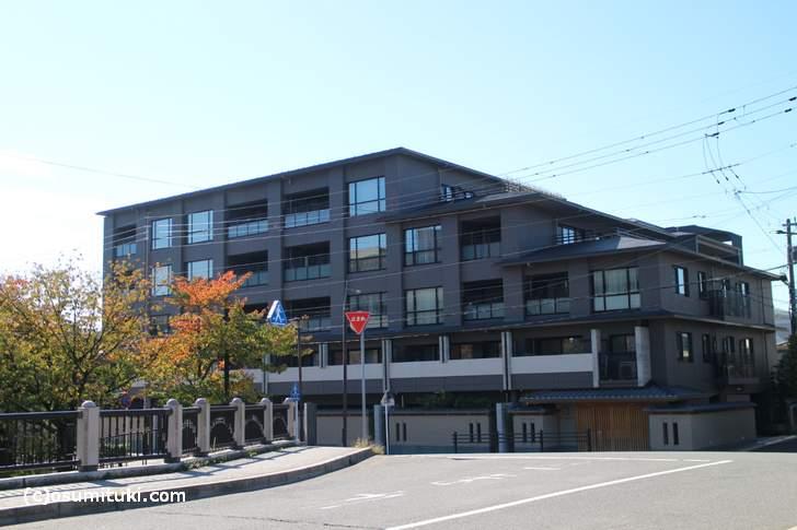 京都にある安室奈美恵のマンション「ザ・京都レジデンス岡崎」