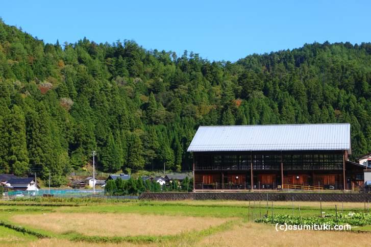 京都の山国エリア(写真は黒田地区)