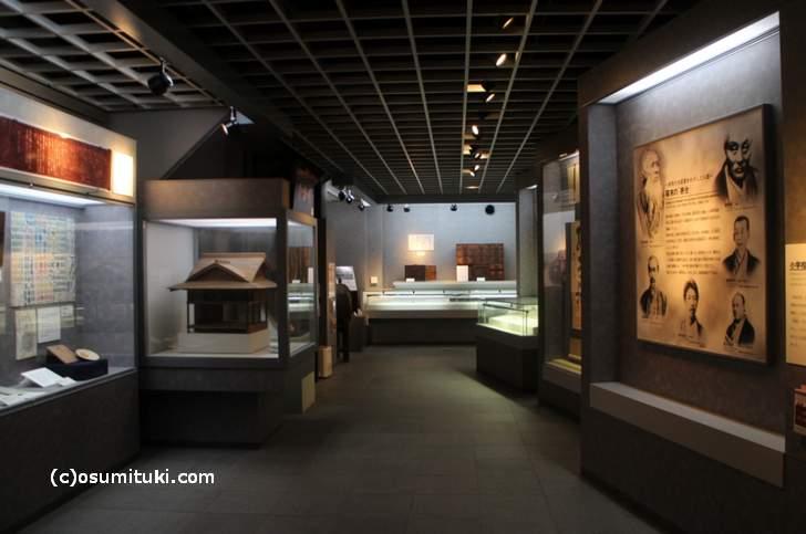 京都市学校歴史博物館には貴重な学校教育の歴史資料がたくさんあります(撮影許可済)
