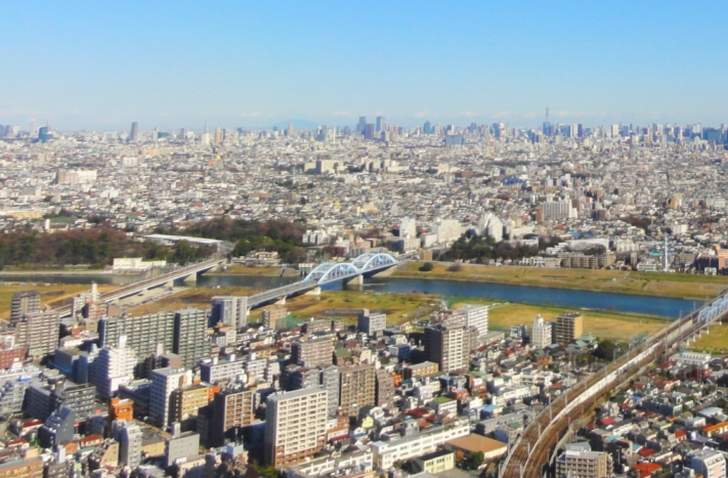 丸子橋界隈でタモリさんは何を見たのでしょうか