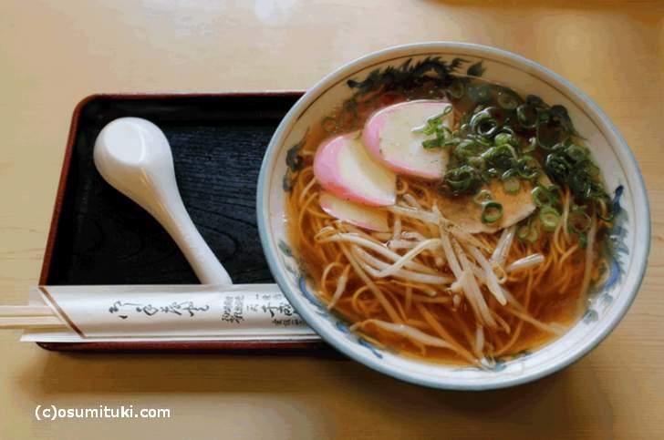 京都の「中華そば」にはカマボコが使われていました・・・・