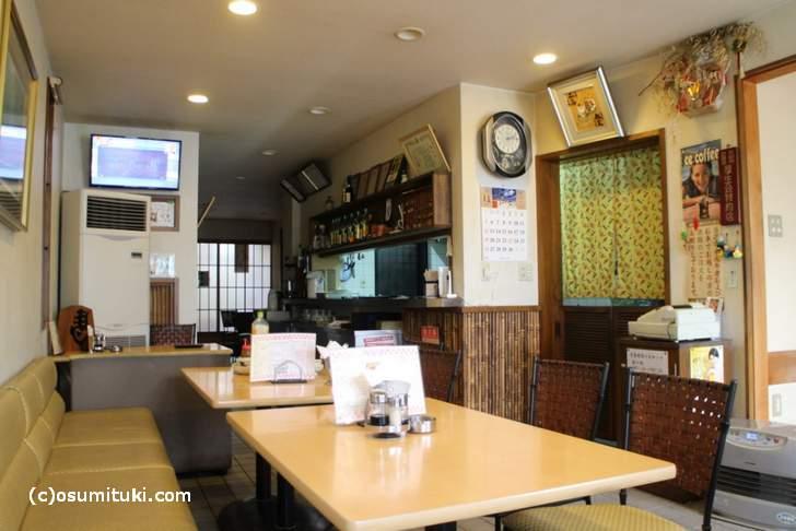 レストラン西賀茂 店内