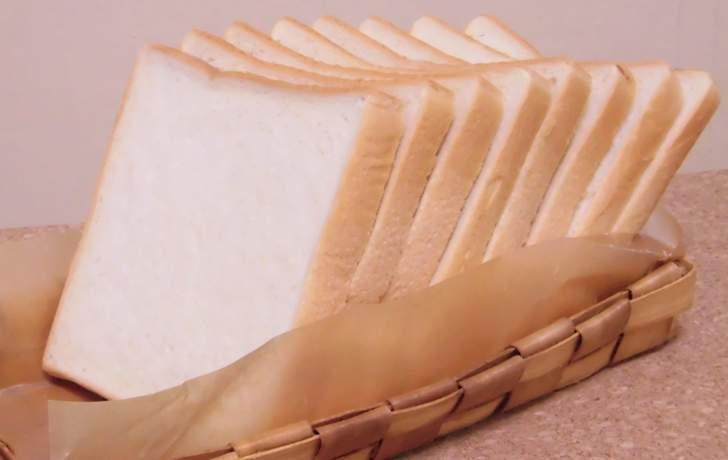 食パンは何枚切りまで大丈夫なのか(写真は8枚切り)