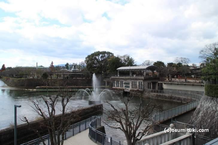 琵琶湖疎水記念館は岡崎の京都市動物園の南東にあります