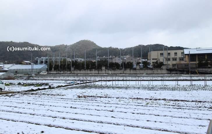 志久呂橋の北から、急に雨や雪であることが多いです