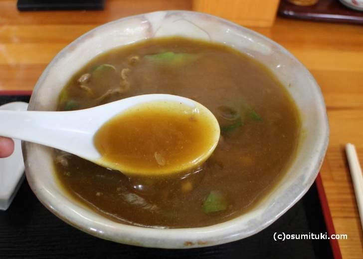 トロみのあるちょっと半透明のスープ