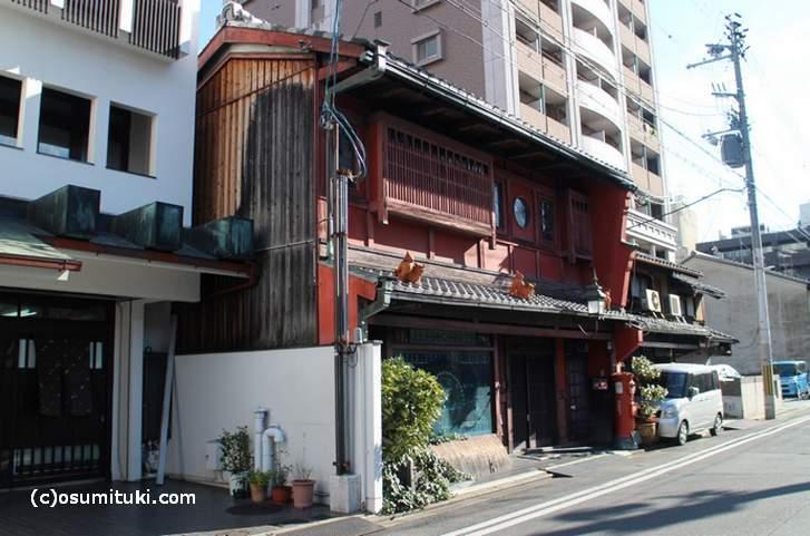 歴史的意匠建造物 旧平井産業(京都市中京区)