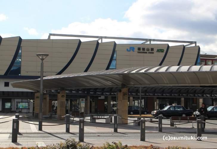 JR山陰本線「福知山駅」北口からすぐの場所にあります