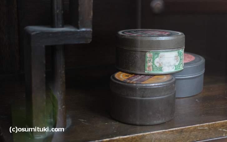 昔の映像保管用の缶