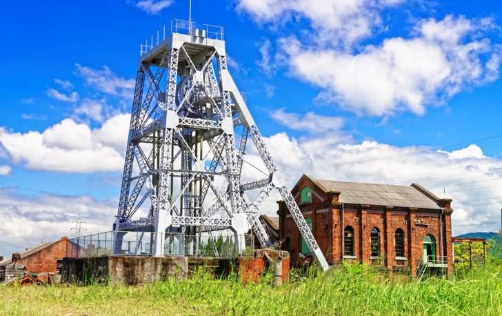 かつての荒尾市は「三池炭鉱 万田坑」があり賑わっていました