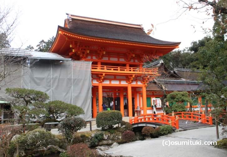 上賀茂神社へ行くには北大路駅からバスを使います