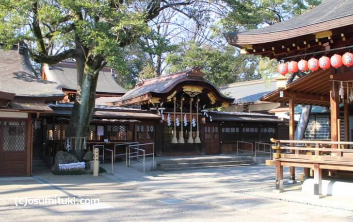 護王神社では年越しの初詣ができますが混雑はしません