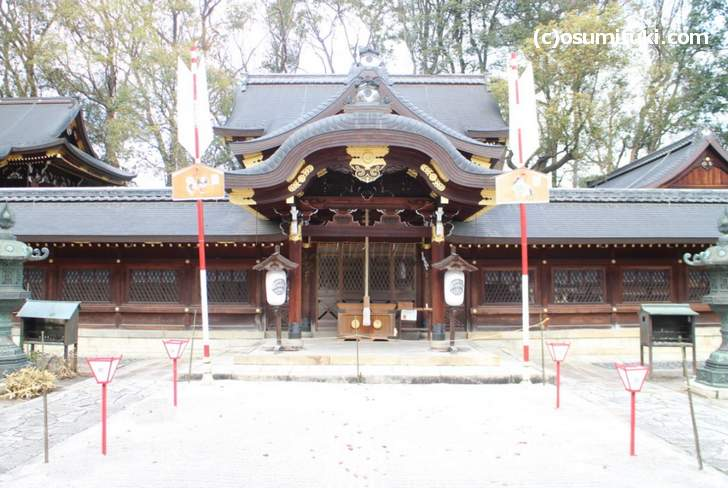 京都の今宮神社の2018年正月