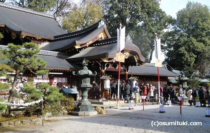 あぶり餅の竹串は、今宮神社の「斎串(いぐし)」で作られています
