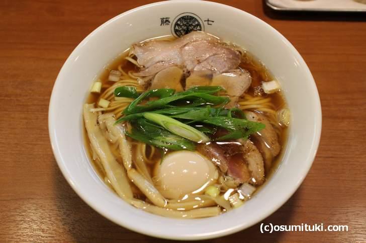 とうひち 新春限定ラーメン「鴨と豚の醤油らぁ麺」