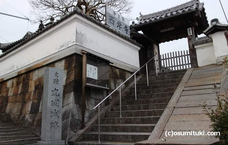散歩コースに出てきた「西岸寺(さいがんじ)」