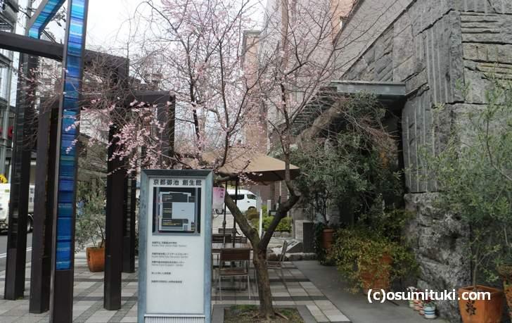京都市役所の西にある「京都御池 創生館」に行けば見ることができます