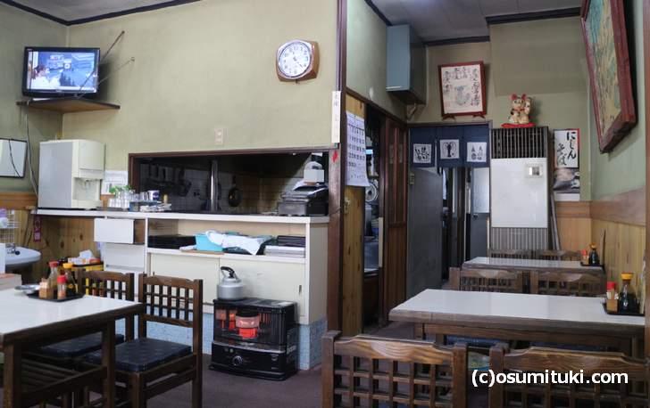 吉野丼がある大力餅(京都市北区)