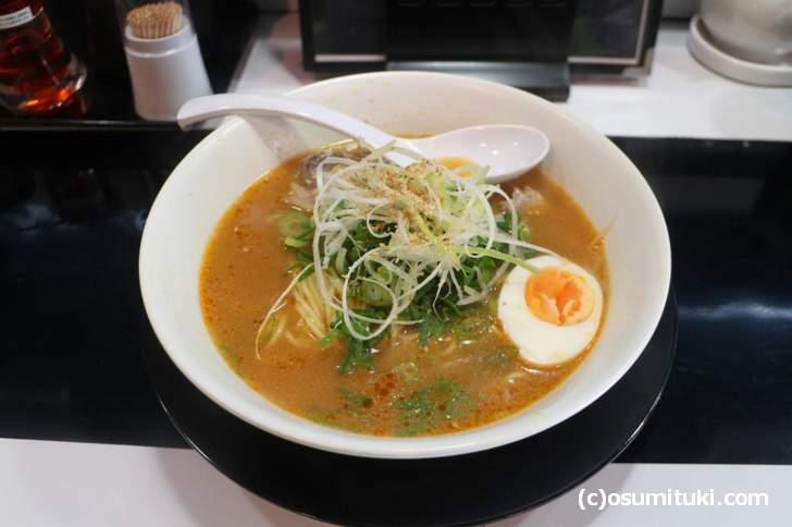 ラーメンKAZU 味噌ラーメン 750円