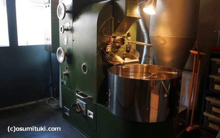 真っ先にあるのが「大和鉄工+カフェバッハ」共同開発の焙煎機