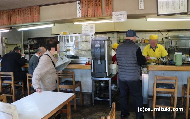 昔懐かしい大衆食堂です(めんめん五条店)