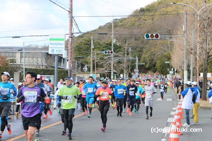 京都マラソン2018年(きぬかけの路)
