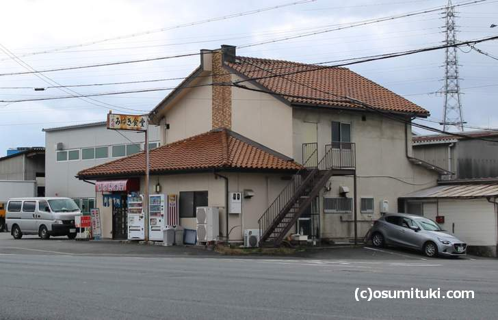 ありし日の「みゆき食堂」(2016年12月撮影)