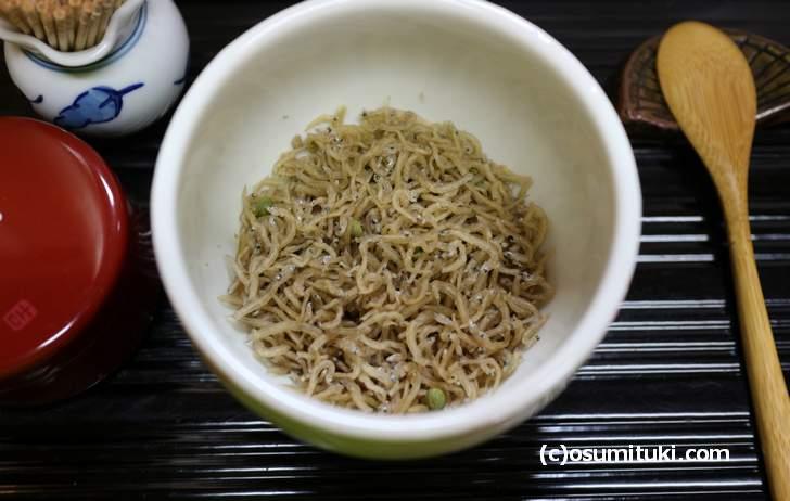 京都の名産品といえば「じゃこ山椒」