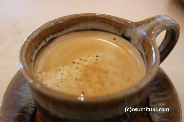深煎りで濃いめのコーヒーも好みでした