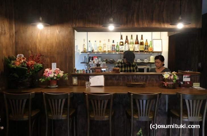 カフェ チャーン(cafe chang)は西院駅から徒歩2分くらい
