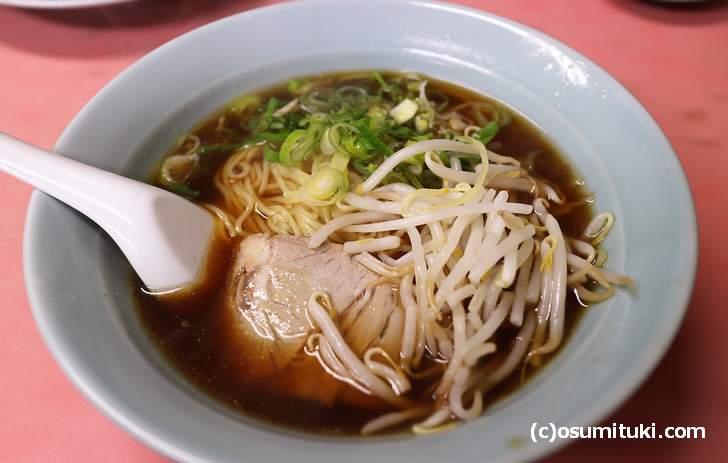 実は京都では350円でラーメンを食べることができます
