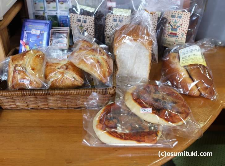 おからはうす で買える「ベッカライ・ヨナタン」のパン