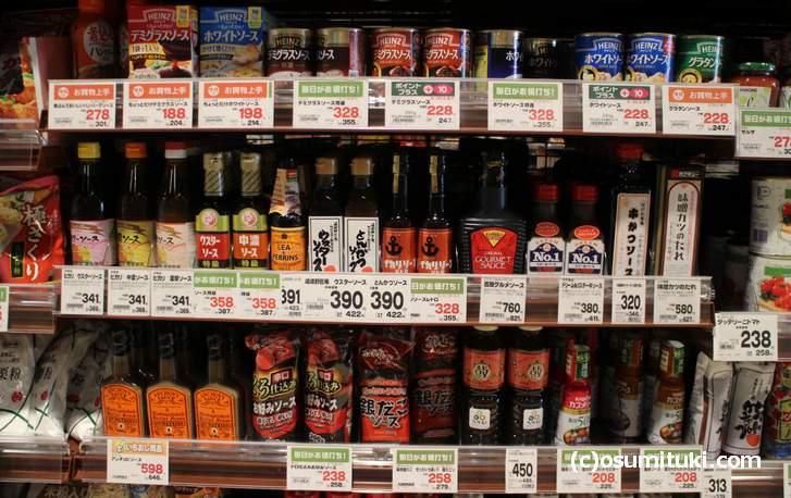 一般的なスーパーで、鳥居ソース(トリイソース)はいくらで売られているのでしょうか