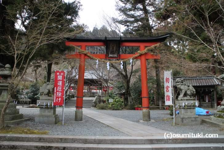 紅葉撮影の候補として出てくる鍬山神社