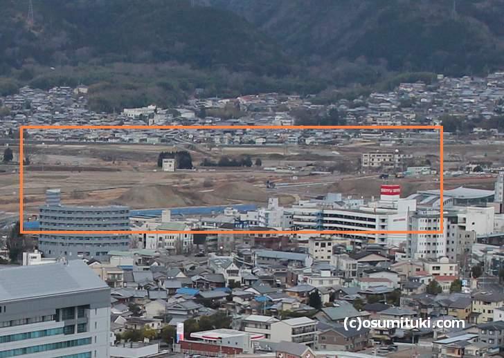 亀岡スタジアム建設予定地