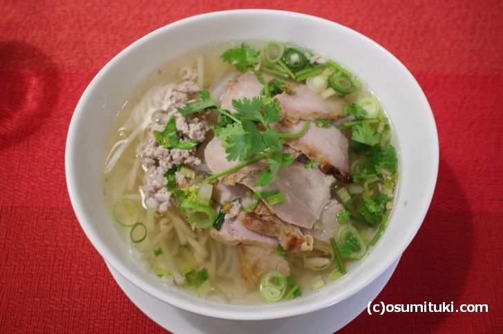 豚肉ラーメン(米麺)