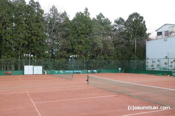 京都・鷹峯にあるテニスコート「セブンスリー川勝」で伊達公子さんはテニスを始めました