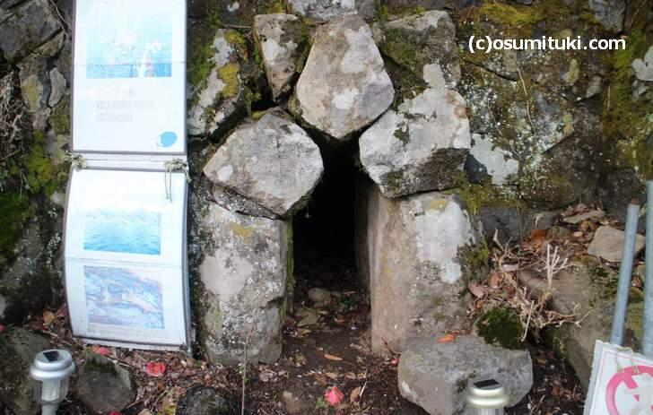 浦島太郎が通った「龍穴」は浦島太郎伝説と密接な関係がありました
